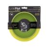 LickiMat Wobble für Hunde mit Originalverpackung. Die Farbe des Wobble ist hellgrün.