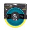 LickiMat Wobble für Hunde mit Originalverpackung.Die Farbe des Wobble ist türkis.