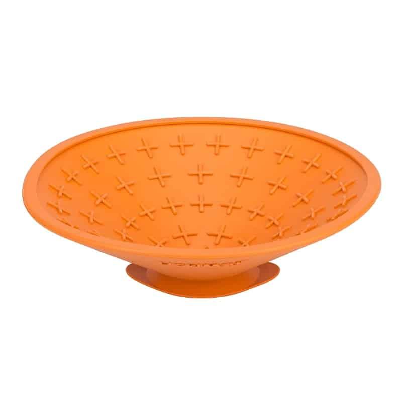 LickiMat Splash in orange